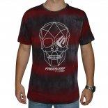 Camiseta Free Surf Skull