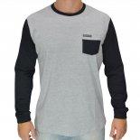 Camiseta Vida Marinha Cmt3303 ML Big Size