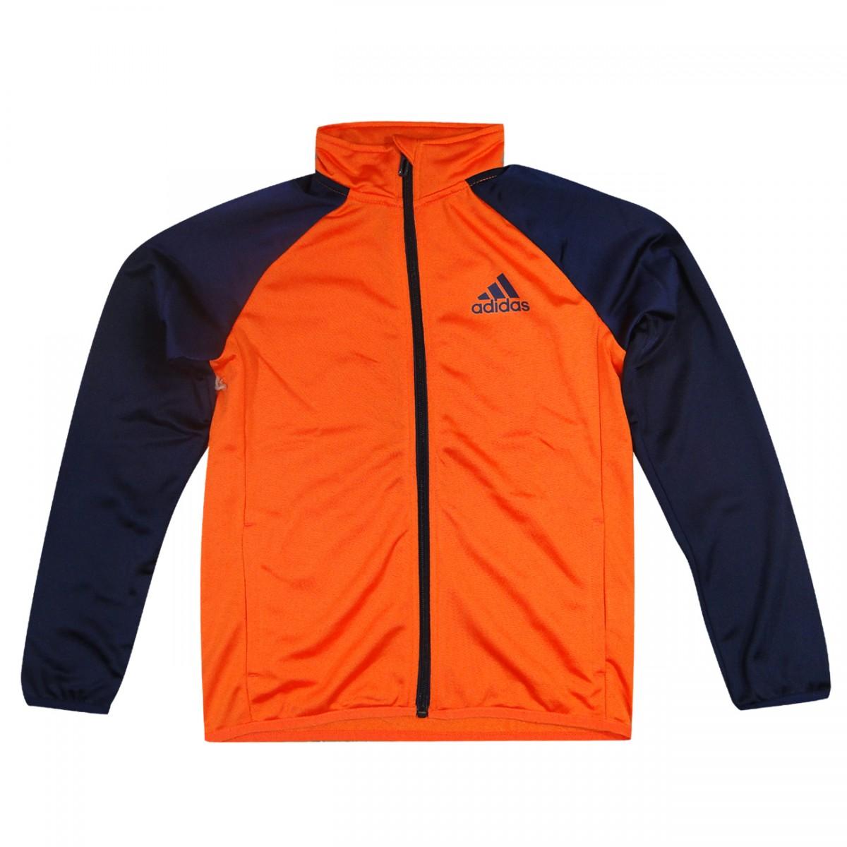 07750c0dd58 Agasalho Adidas YB TS Entry Infantil AK2211 - LARANJA MARINHO - Chuteira  Nike