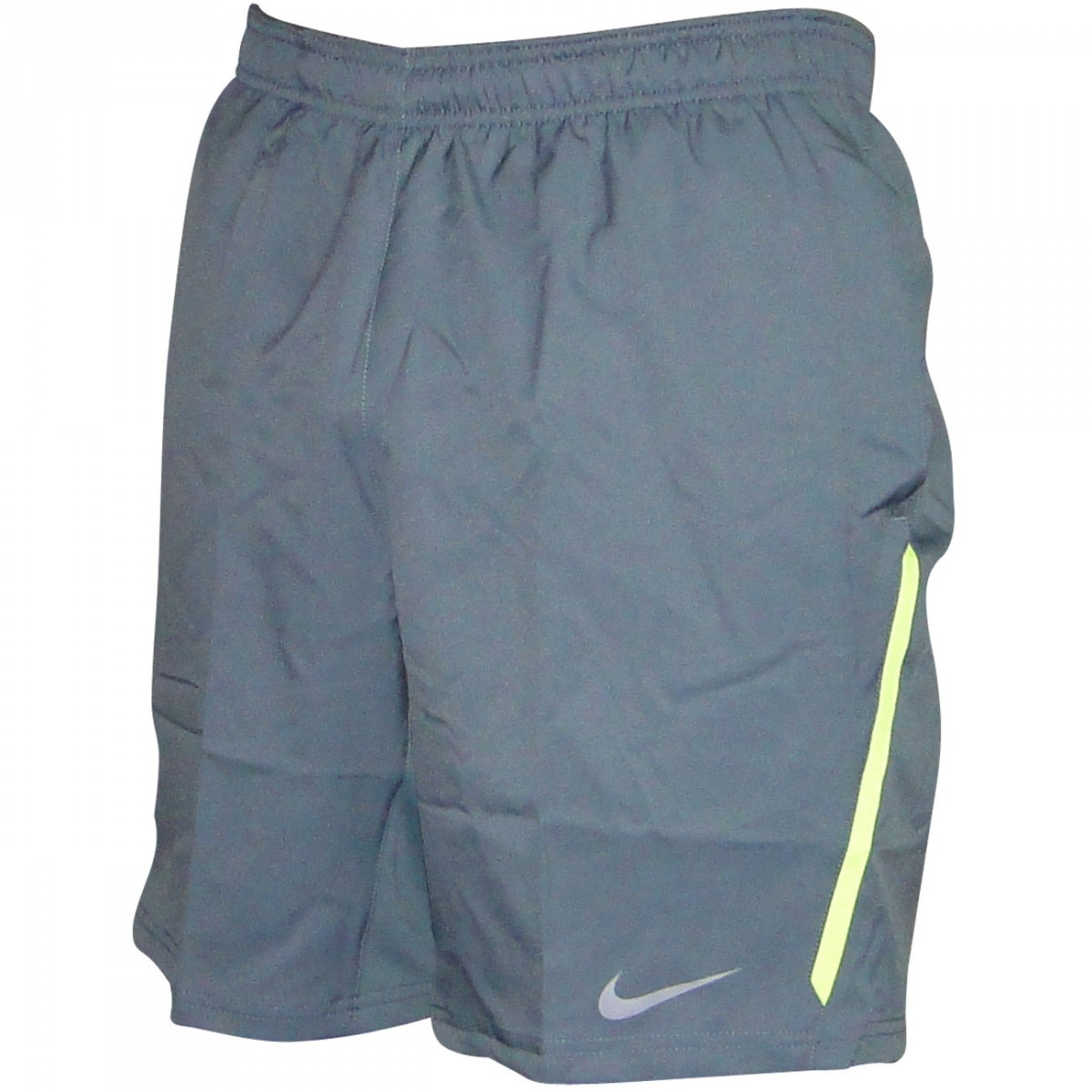b347e42fe Bermuda Nike 523247 523247-469 - Cinza/Limão - Chuteira Nike, Adidas ...