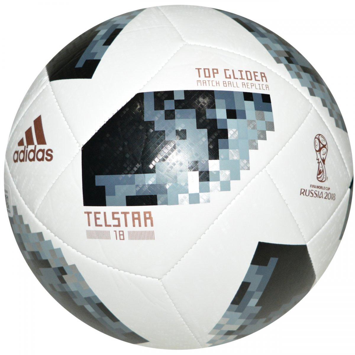 69d73e8b78 Bola Adidas Copa da Russia 2018 CE8096 - Branco preto - Chuteira Nike
