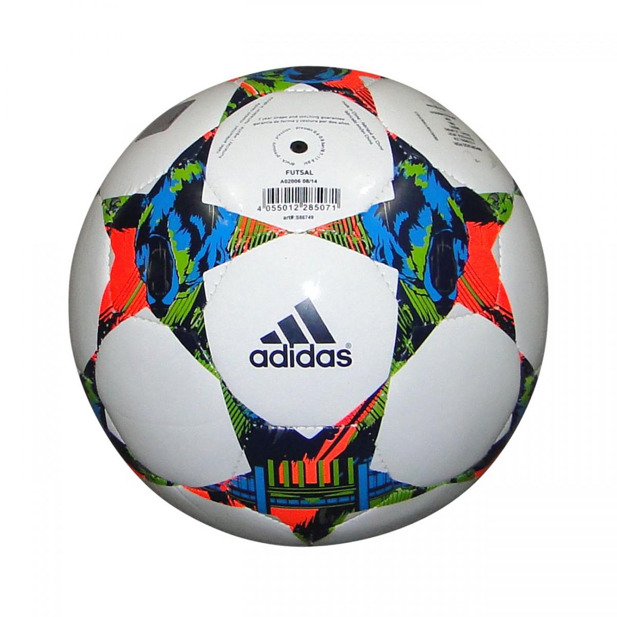 19a064f07686d Bola Adidas Finale Berlin 2015 Futsal S86749 - Branco Multicolor ...