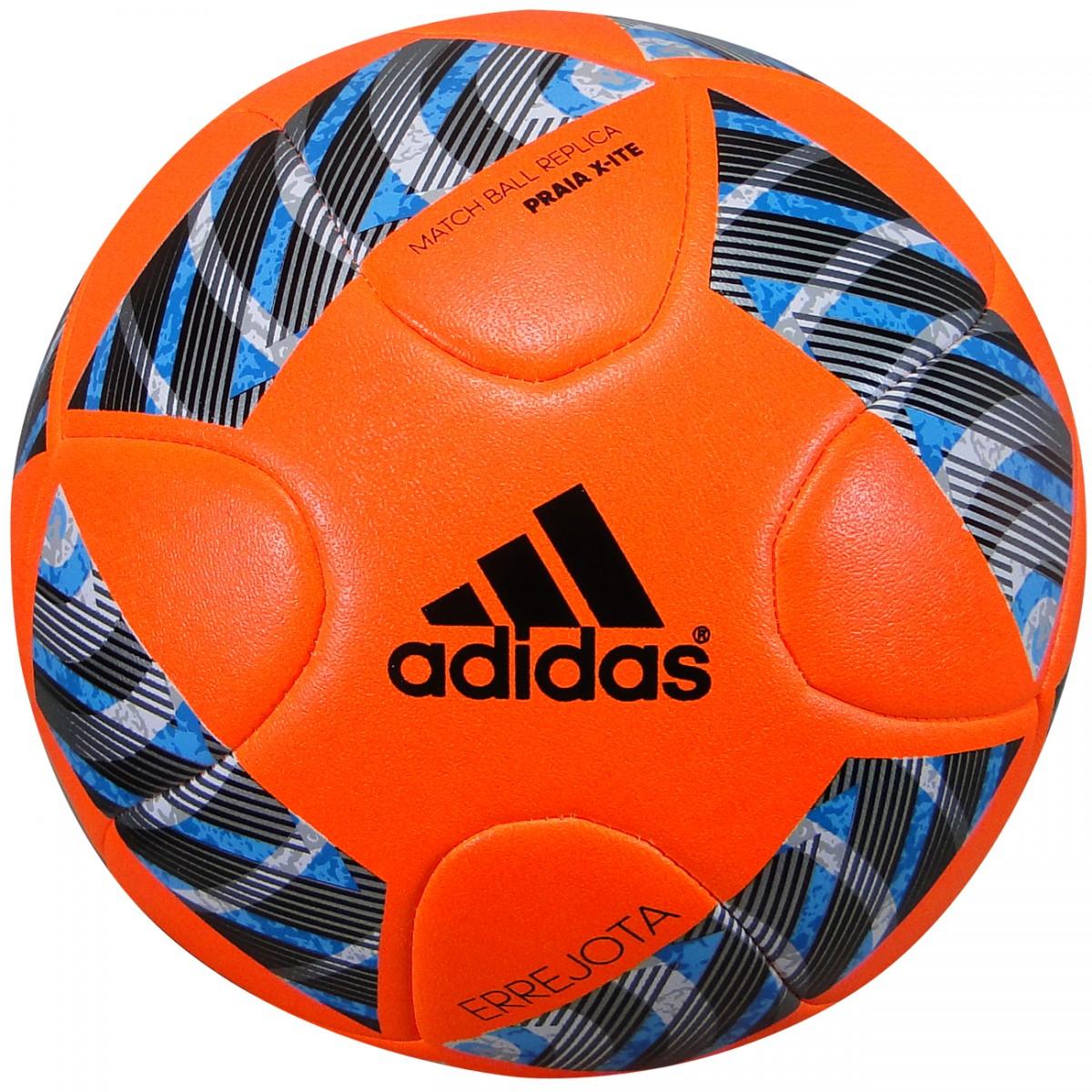 Bola Adidas Praia Xite AO4030 - Laranja Preto - Chuteira Nike ... b2de79fe3ad32
