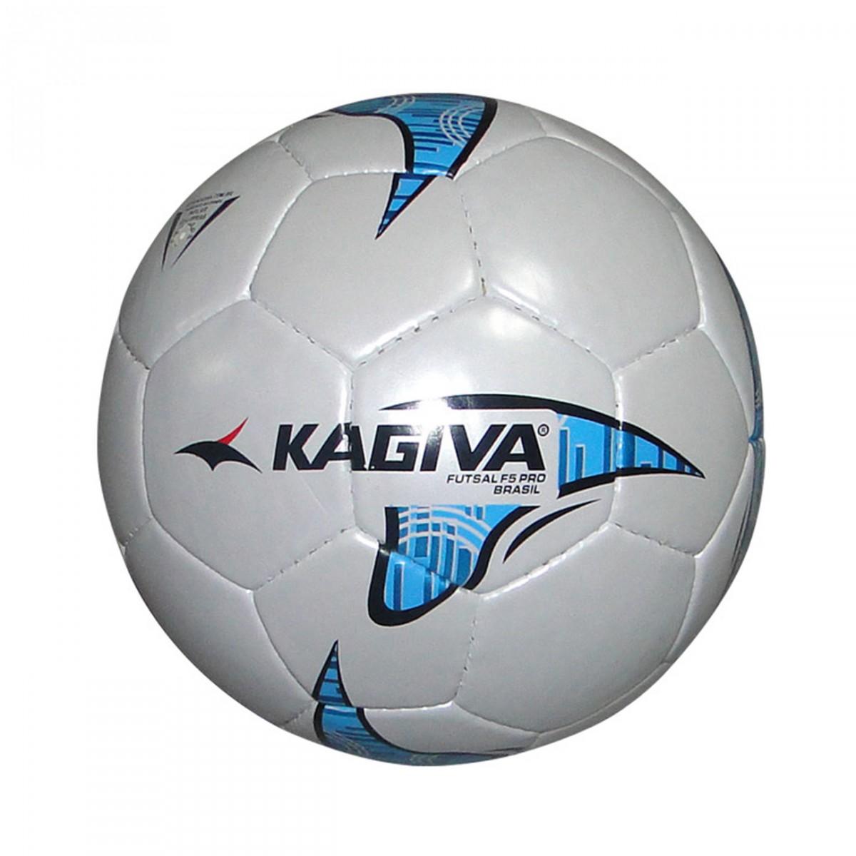 3868e024e236a Bola Kagiva F5 32 Gomos 8634 - Branco Azul Laranja - Chuteira Nike ...