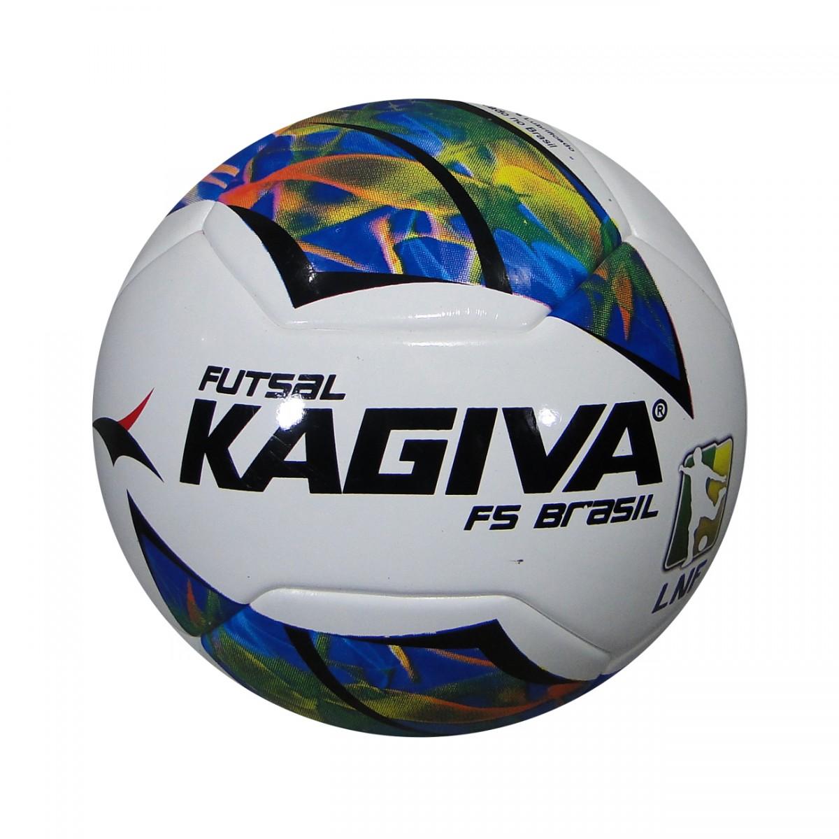 de00a1efa7 Bola Kagiva F5 Brasil Futsal 0044 - Branco Multicolor - Chuteira ...