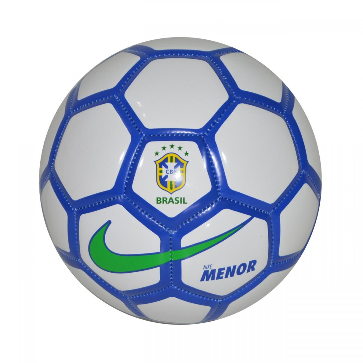 Bola Nike CBF Futsal SC2911 100 - Branco Azul Verde - Chuteira Nike ... febed84b4b9bb