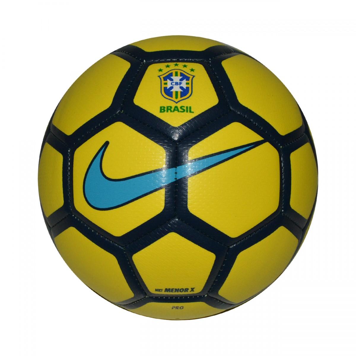 Bola Nike CBF Menor X Futsal SC3081 722 - Amarelo - Chuteira Nike ... da14dd0eb13d6
