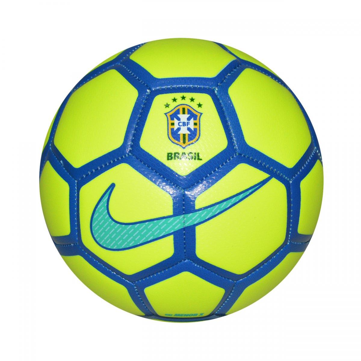Bola Nike Menor x Salão SC3250 - Limão azul - Chuteira Nike 2bcdd1e475251
