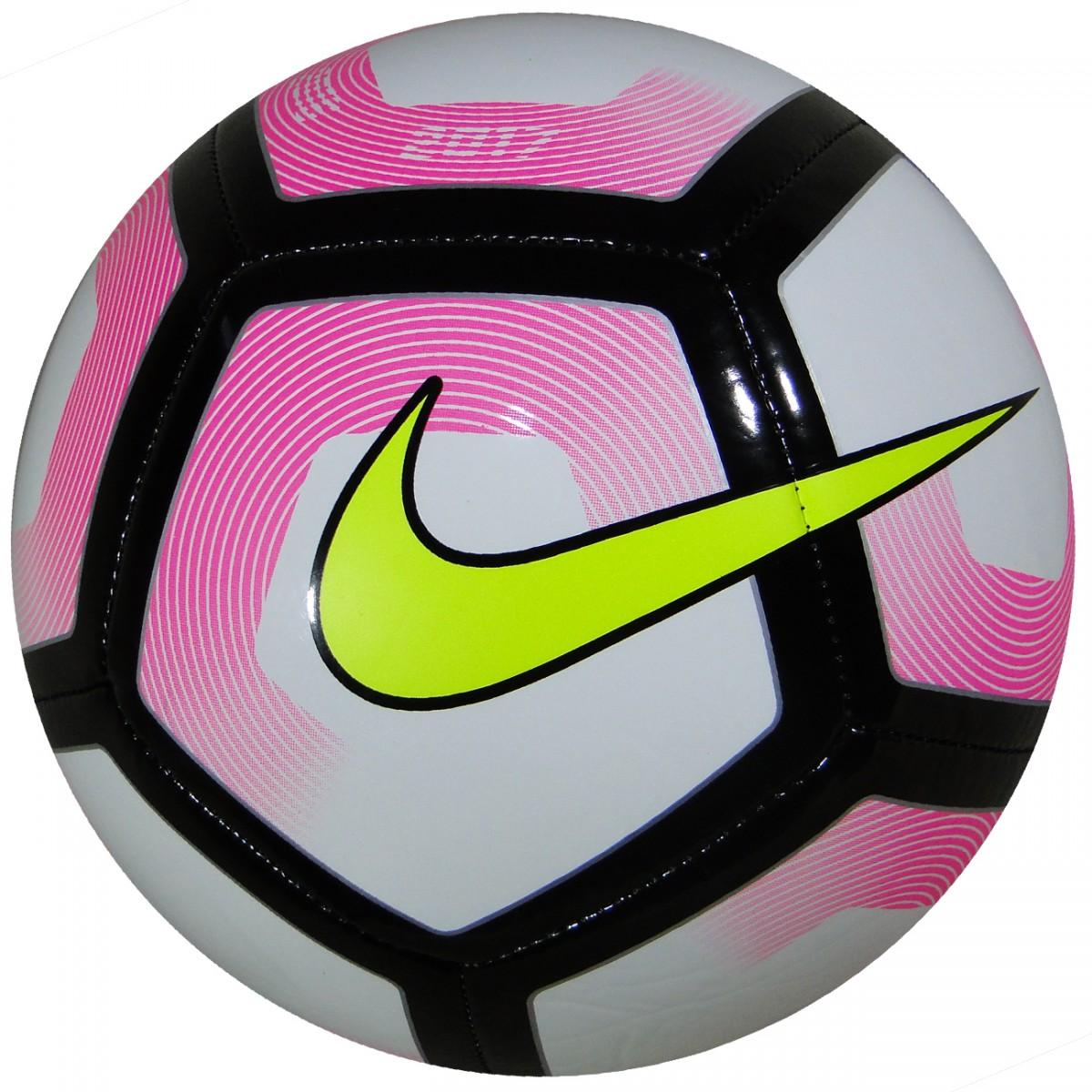 6dd510cea9e23 Bola Nike SC2993 SC2993 100 - Rosa Preto Limão - Chuteira Nike ...