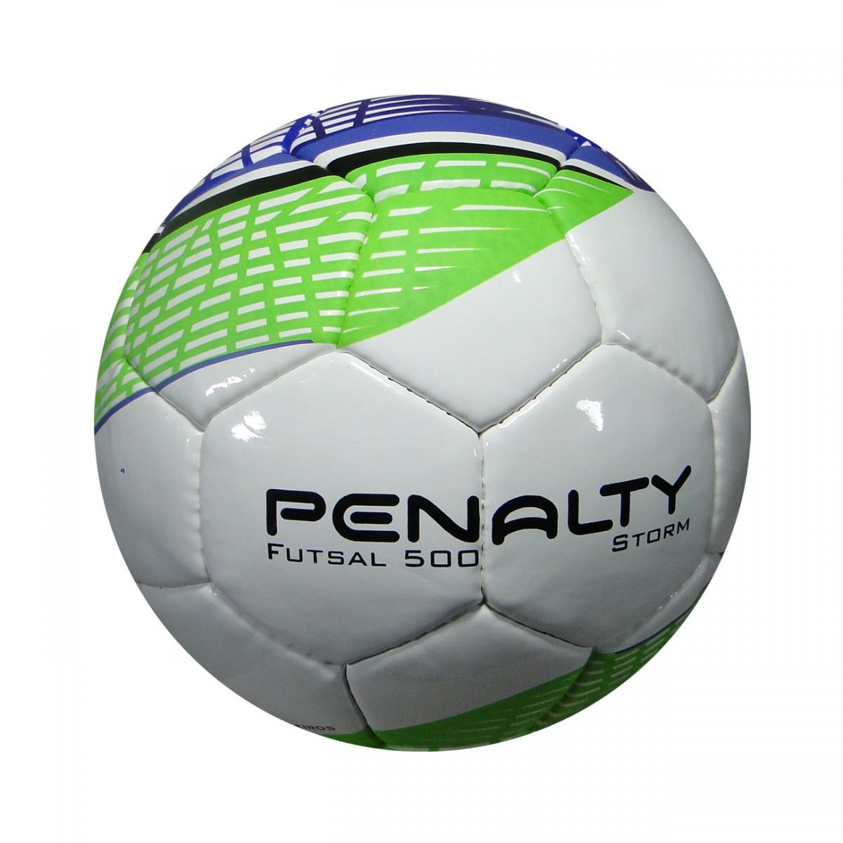Bola Penalty 500 Storm Futsal 5104681992 - Branco Verde Roxo - Chuteira Nike 55de9f08f1471