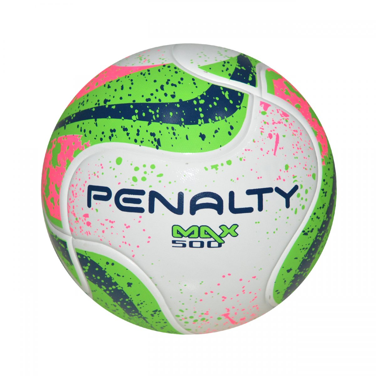 b9ca60dbed Bola Penalty Max 500 Term VII Futsal 5414421541 - Branco verde rosa -  Chuteira Nike
