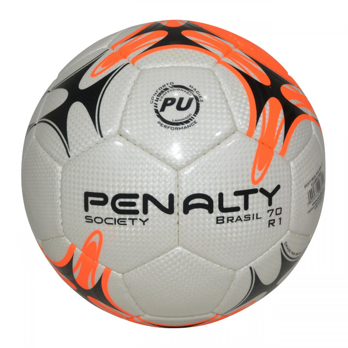 b1475bb372 Bola Society Penalty Brasil 70 R1 VII 5115051710 - Branco laranja preto -  Chuteira Nike