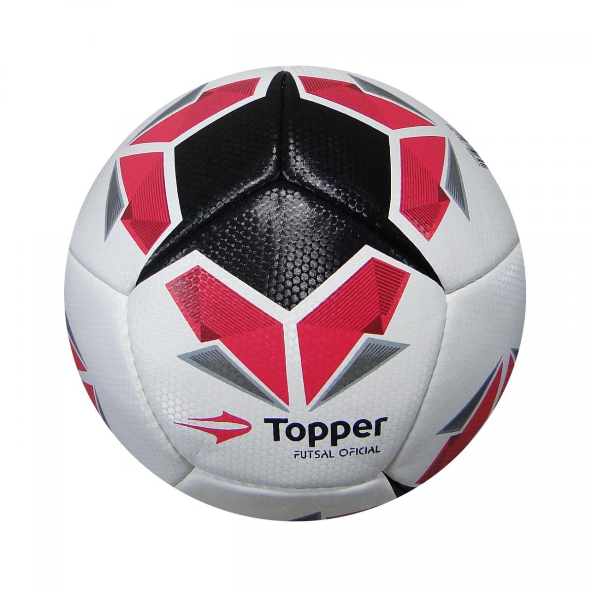 Bola Topper Seleção BR IV Futsal 2232-M - Branco Preto Rosa ... d99c0484499b1