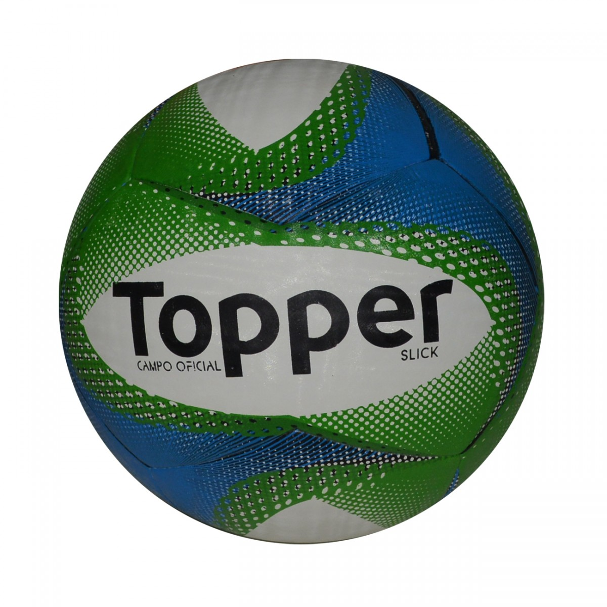 Bola Topper Slick Futsal 9025 - Branco Azul Verde - Chuteira Nike ... c9f4d87cf3a9a