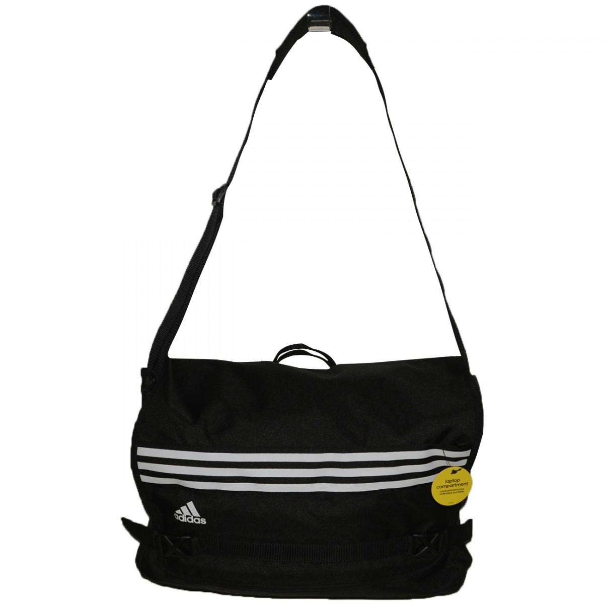 7cb2afd88 Bolsa Adidas ASM AB1866 - Preto/Branco - Chuteira Nike, Adidas. Sandalias  Femininas. Sandy Calçados