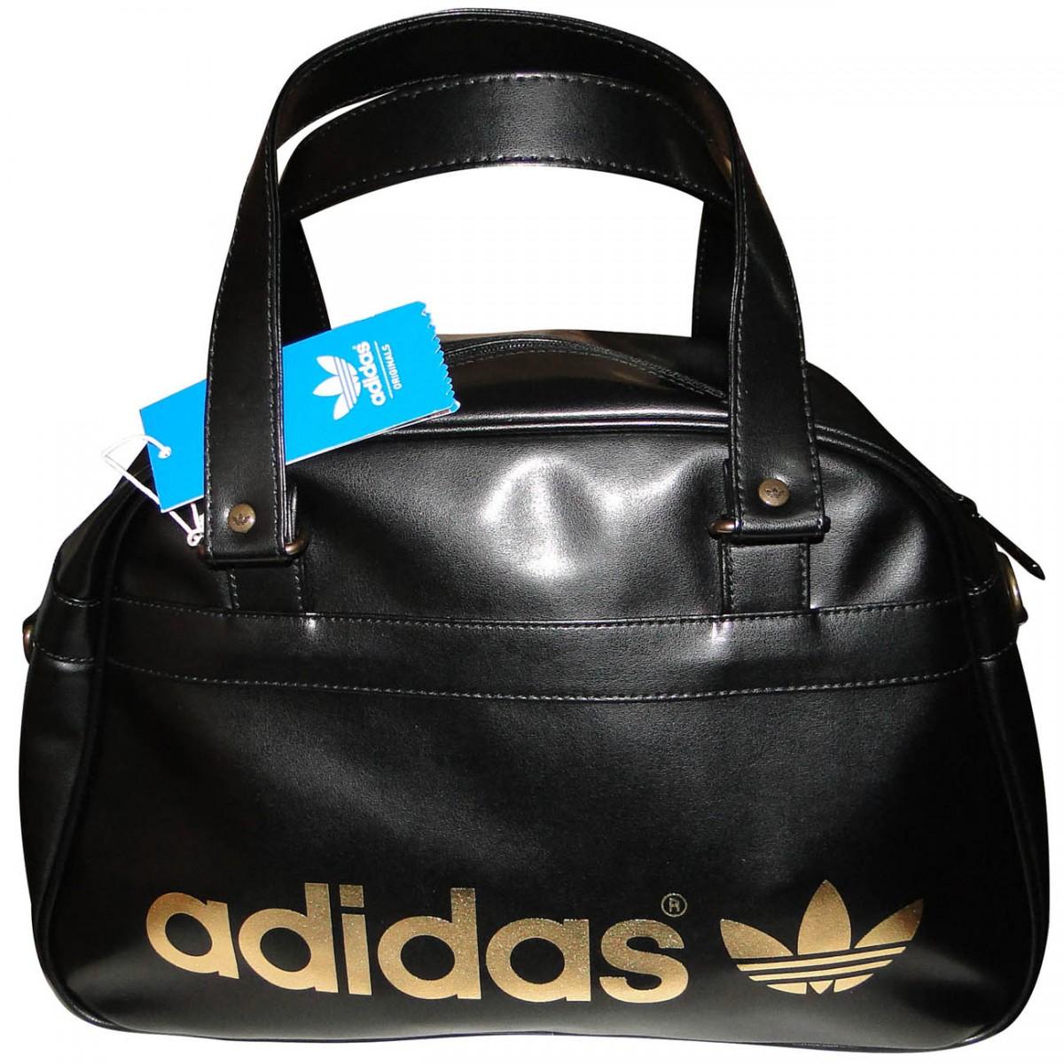 6156cf9a8c3 Bolsa Adidas Bowling Adicolor 5565 - PRETO DOURADO - Chuteira Nike ...