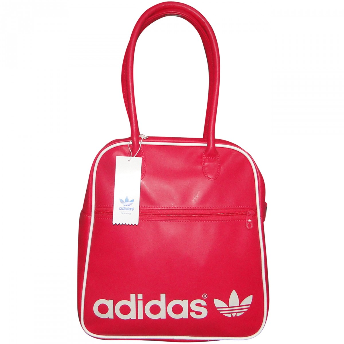 1a7bfdb15 Bolsa Adidas Bowlingbag G74936 - Pink/Branco - Chuteira Nike, Adidas.  Sandalias Femininas. Sandy Calçados