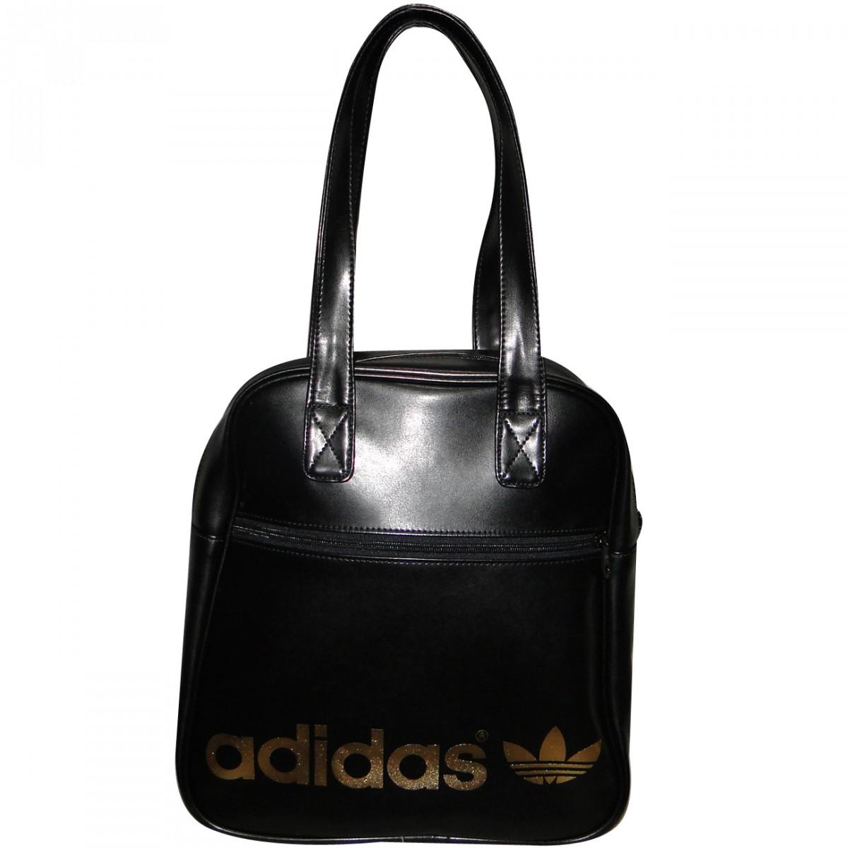 338b205ab67 Bolsa Adidas Bowlingbag Ref.Z37698 Z37698 - Preto Dourado - Chuteira ...