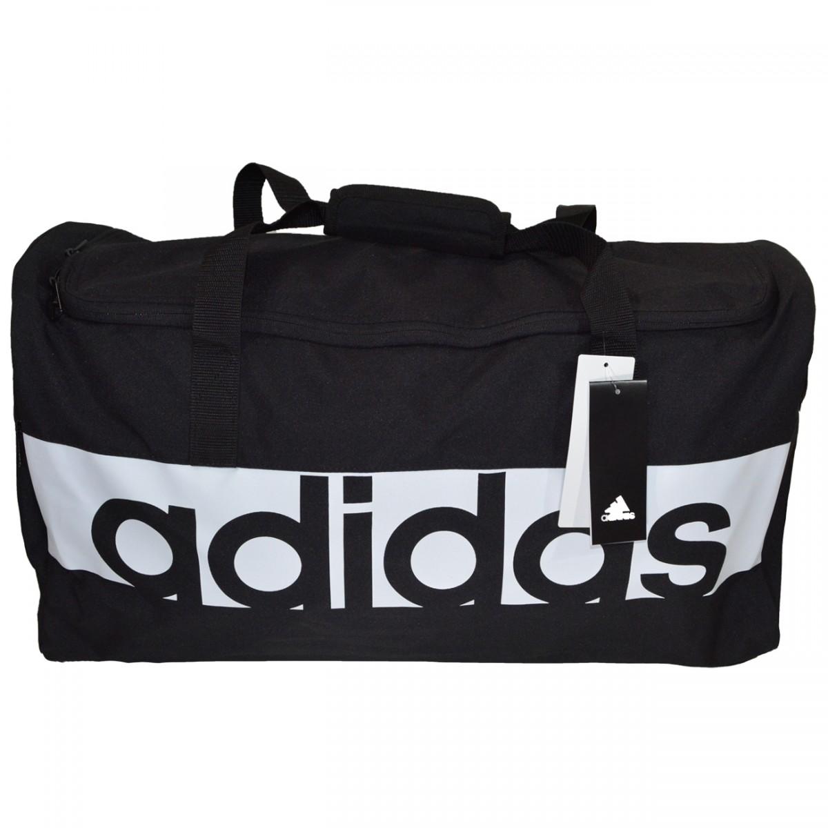 4232c95e6 Bolsa Adidas Lin Per TB M S99959 - Preto/Branco - Chuteira Nike, Adidas.  Sandalias Femininas. Sandy Calçados
