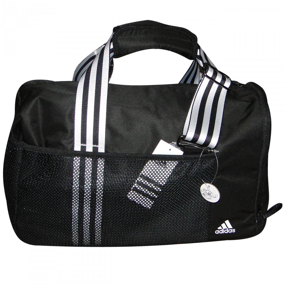 Bolsa Adidas W Cc TrTb S W64070 - Preto Branco - Chuteira Nike ... 6cc768db70e