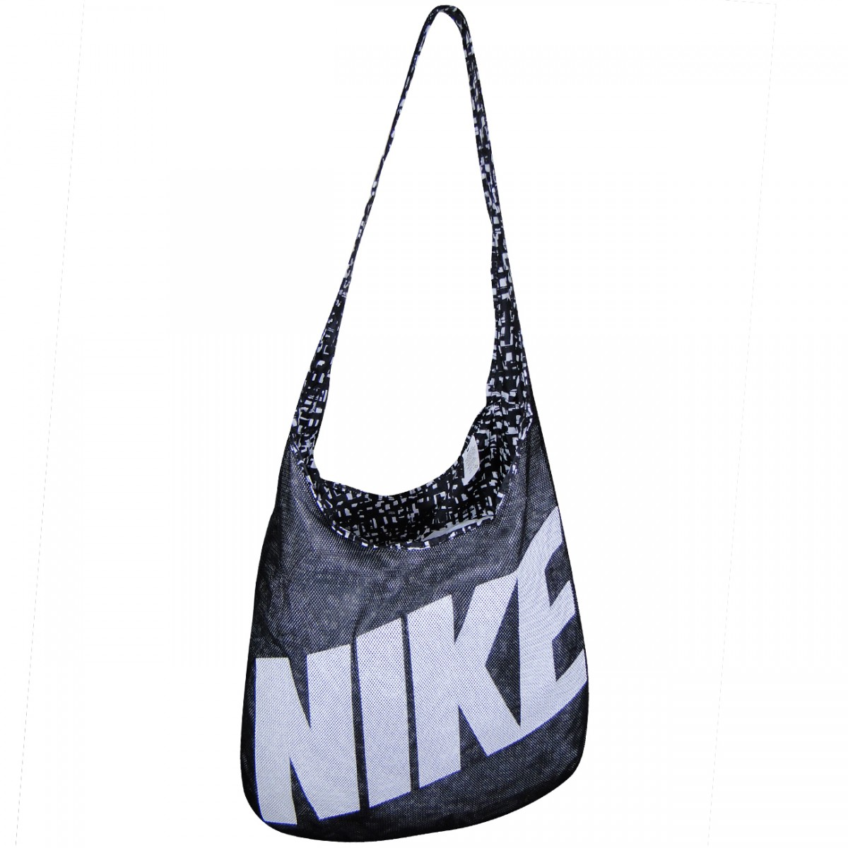 a4d71e916 Bolsa Nike BA4879 Reversivel BA4879 - 016 - Preto/Branco - Chuteira ...