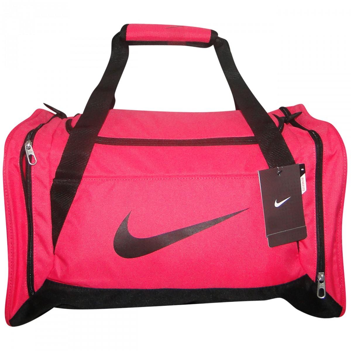 a868c5dac Bolsa Nike BA4910 BA4910 606 - Pink/Preto - Chuteira Nike, Adidas ...