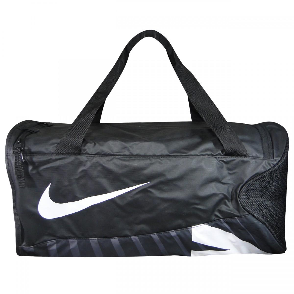 e51f73872 Bolsa Nike BA5182 BA5182 010 - Preto/Branco - Chuteira Nike, Adidas.  Sandalias Femininas. Sandy Calçados