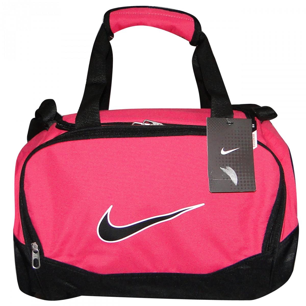 bolsa adidas preto e rosa