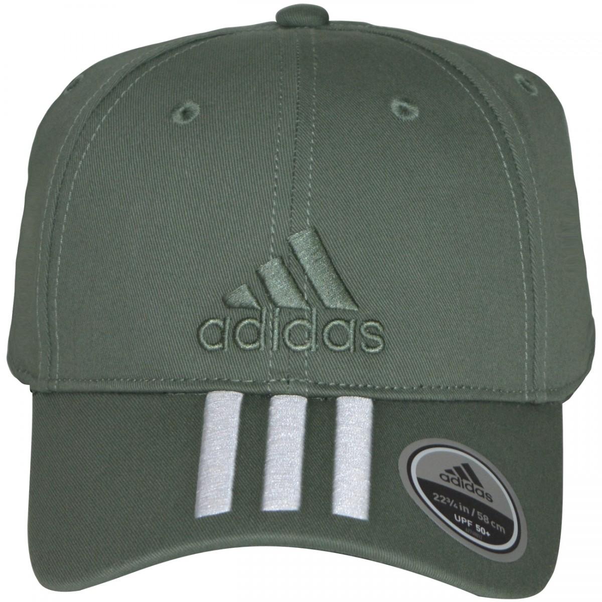 Bone Adidas 3S Cap Cotto BK0810 - Verde Militar - Chuteira Nike ... 612fb891f7e