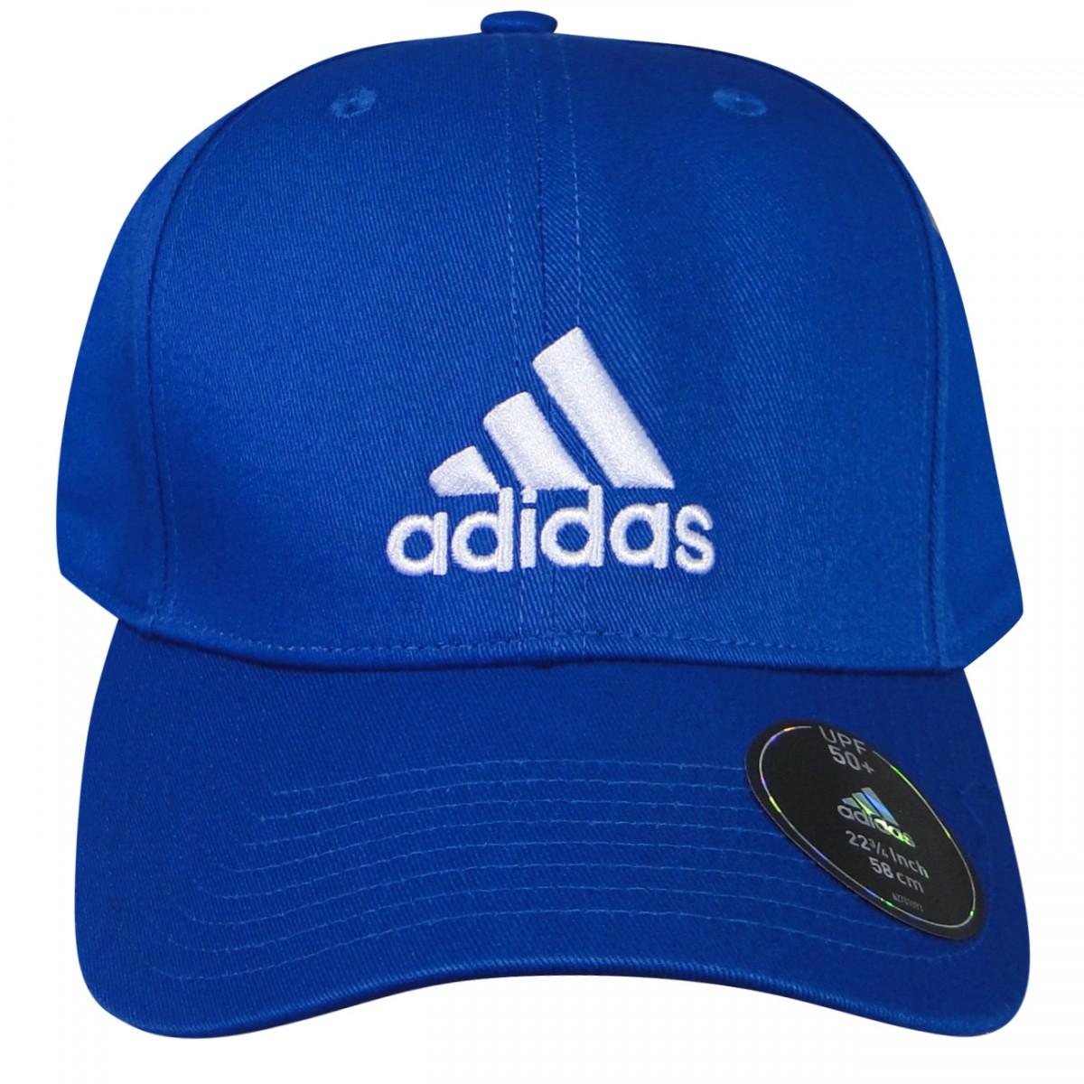 f136d1996c Bone Adidas Perf Cap AJ9219 - Azul - Chuteira Nike, Adidas. Sandalias  Femininas. Sandy Calçados