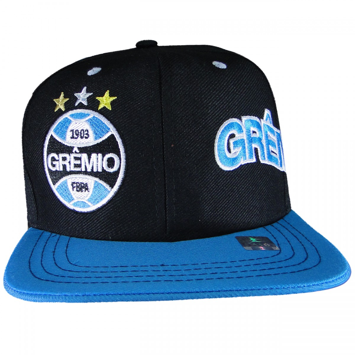 Bone Gremio Aba Reta GR301 - Tricolor - Chuteira Nike 11e5a88a927