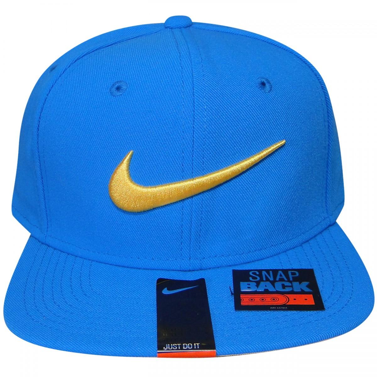 Bone Nike 639534 639534 408 - Azul Amarelo - Chuteira Nike f9f3e4e8ff4