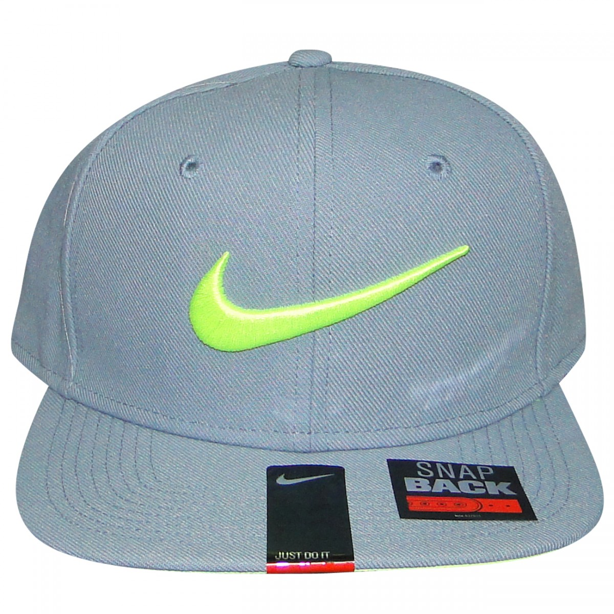 41b04d8a8c683 Bone Nike 639534 639534-088 - Cinza Limão - Chuteira Nike