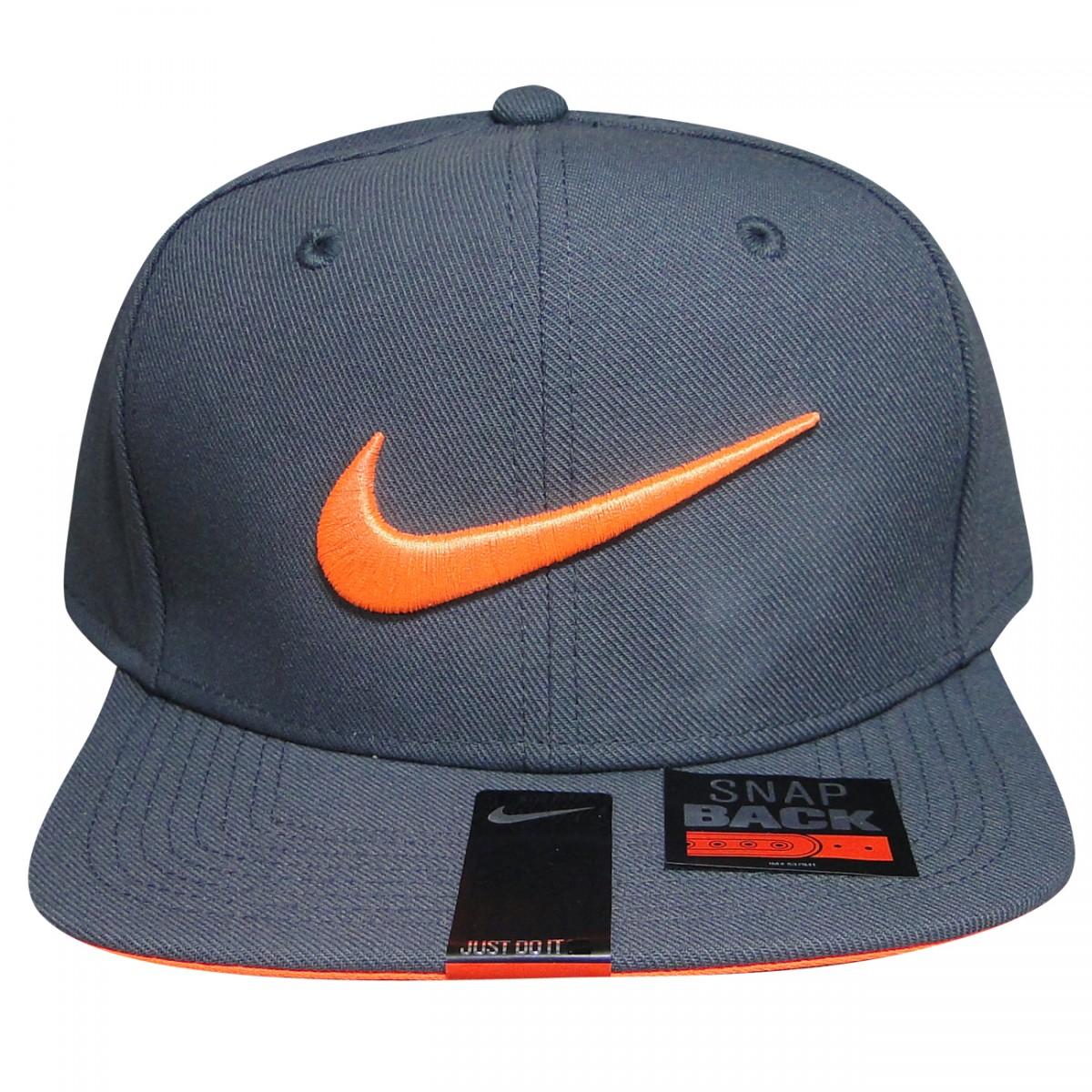 Bone Nike 639534 639534 021 - Chumbo Laranja - Chuteira Nike c6eebae666b