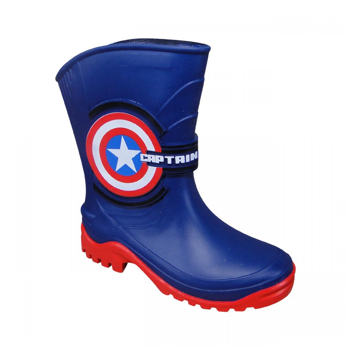 cfd10d6ff56 Bota Marvel Avangers 21416 Infantil 21416 51304 - Azul Vermelho - Chuteira  Nike