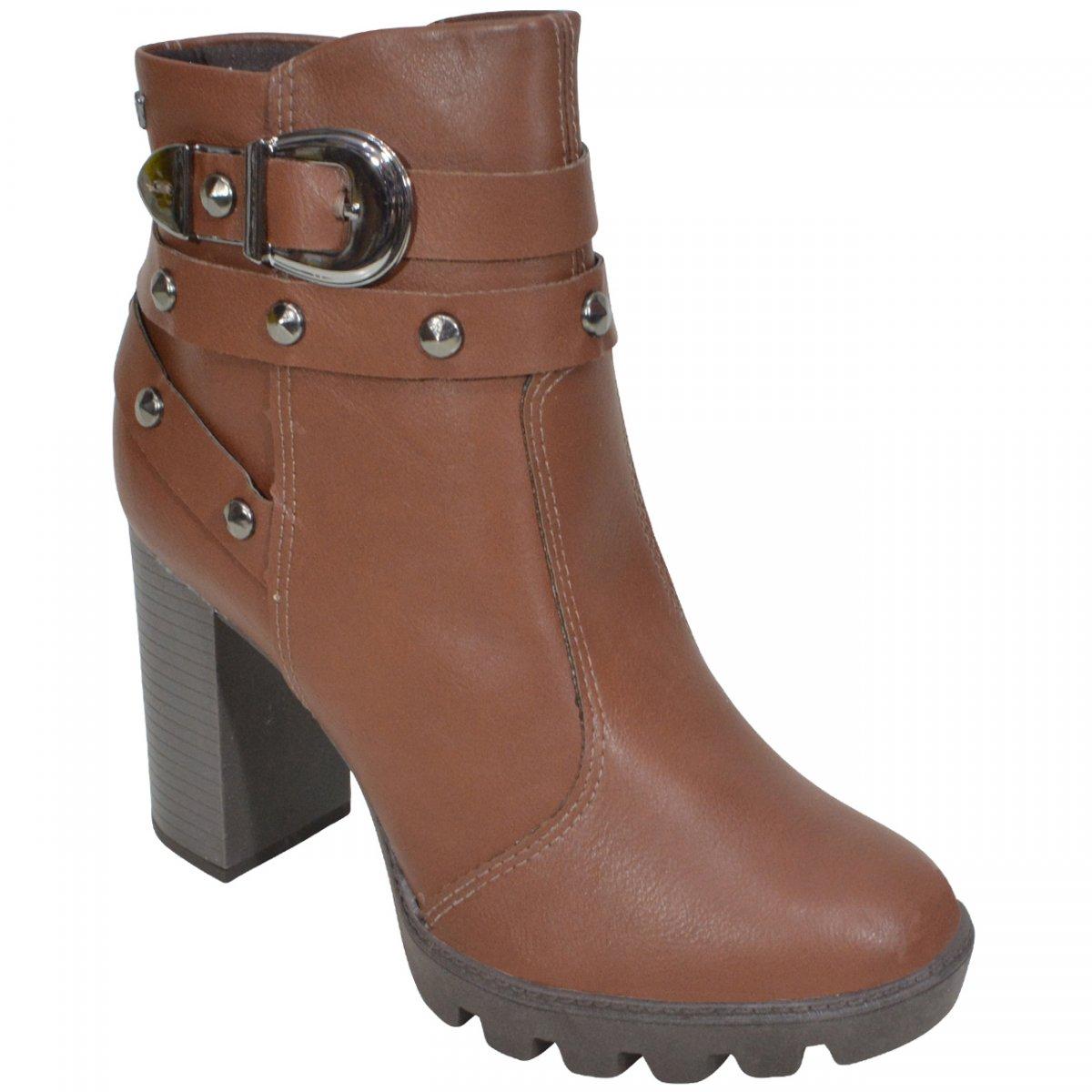 6022af3cd Bota Mississipi Q0142 Q0142 0003 - Castanho - Chuteira Nike, Adidas.  Sandalias Femininas. Sandy Calçados