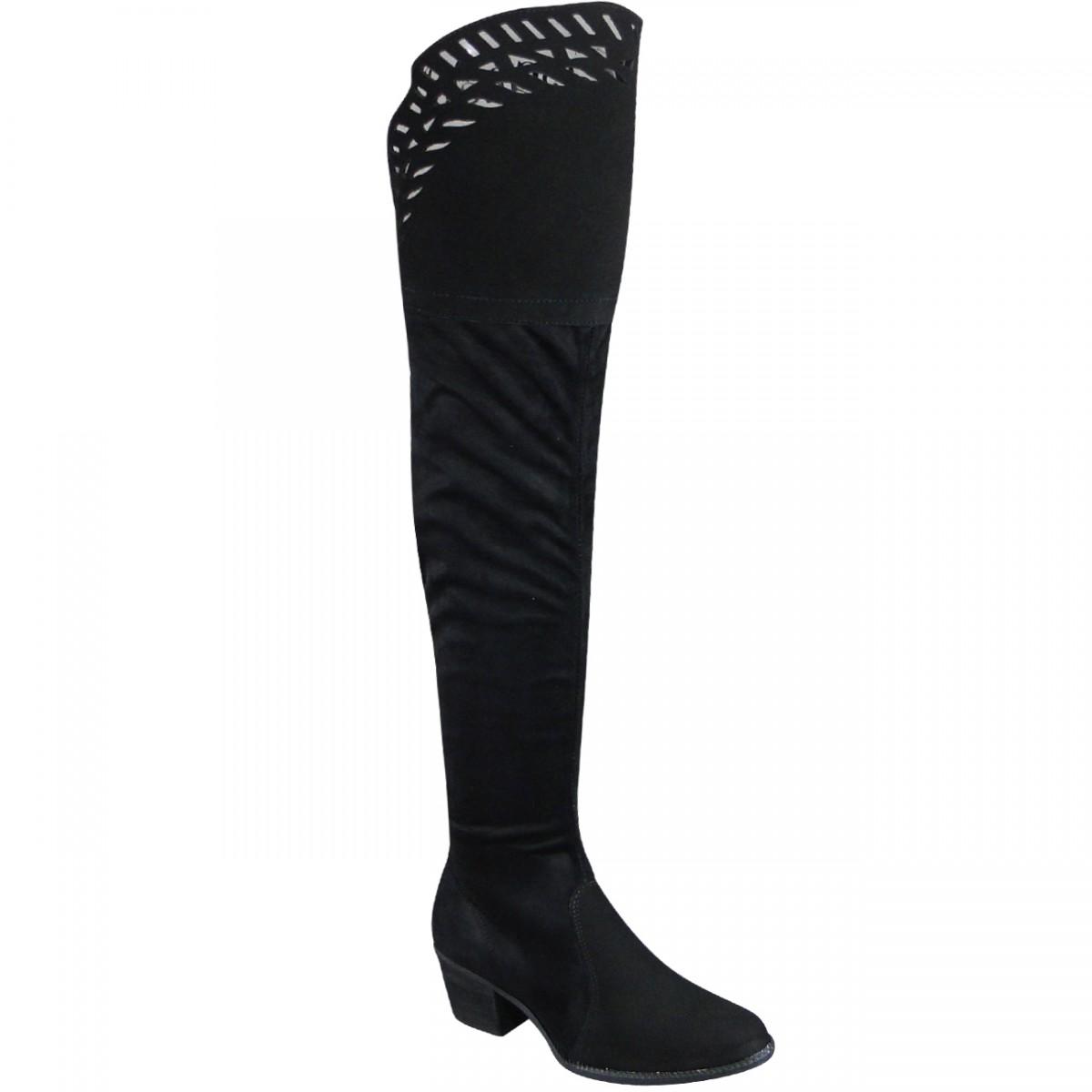 75c0fa0f6 Bota Tanara 0222 T0222 0001 - Preto - Chuteira Nike, Adidas. Sandalias  Femininas. Sandy Calçados