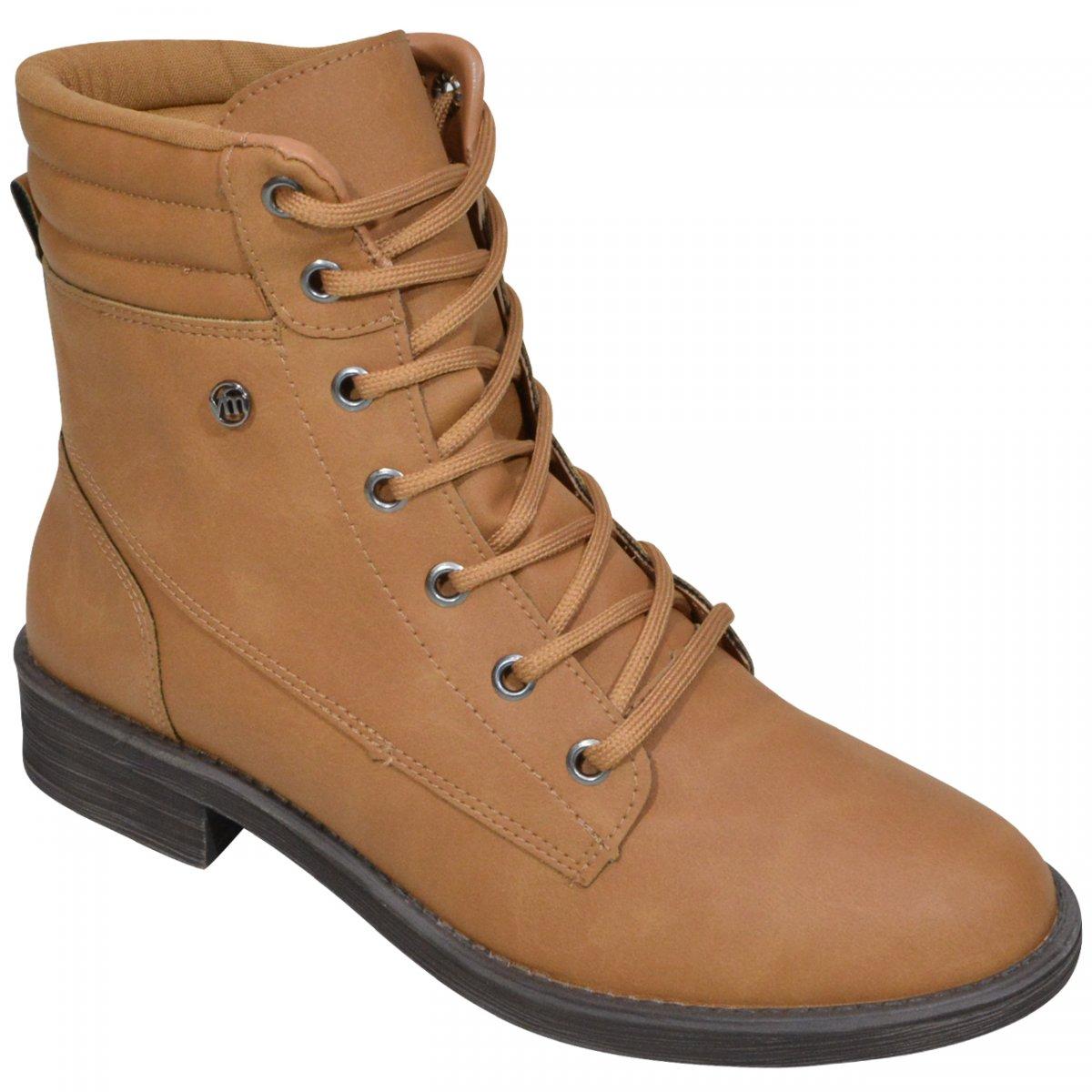 bd4c6f4c0 Bota Via Marte 19-6706 19-6706 - Caramelo - Chuteira Nike, Adidas.  Sandalias Femininas. Sandy Calçados