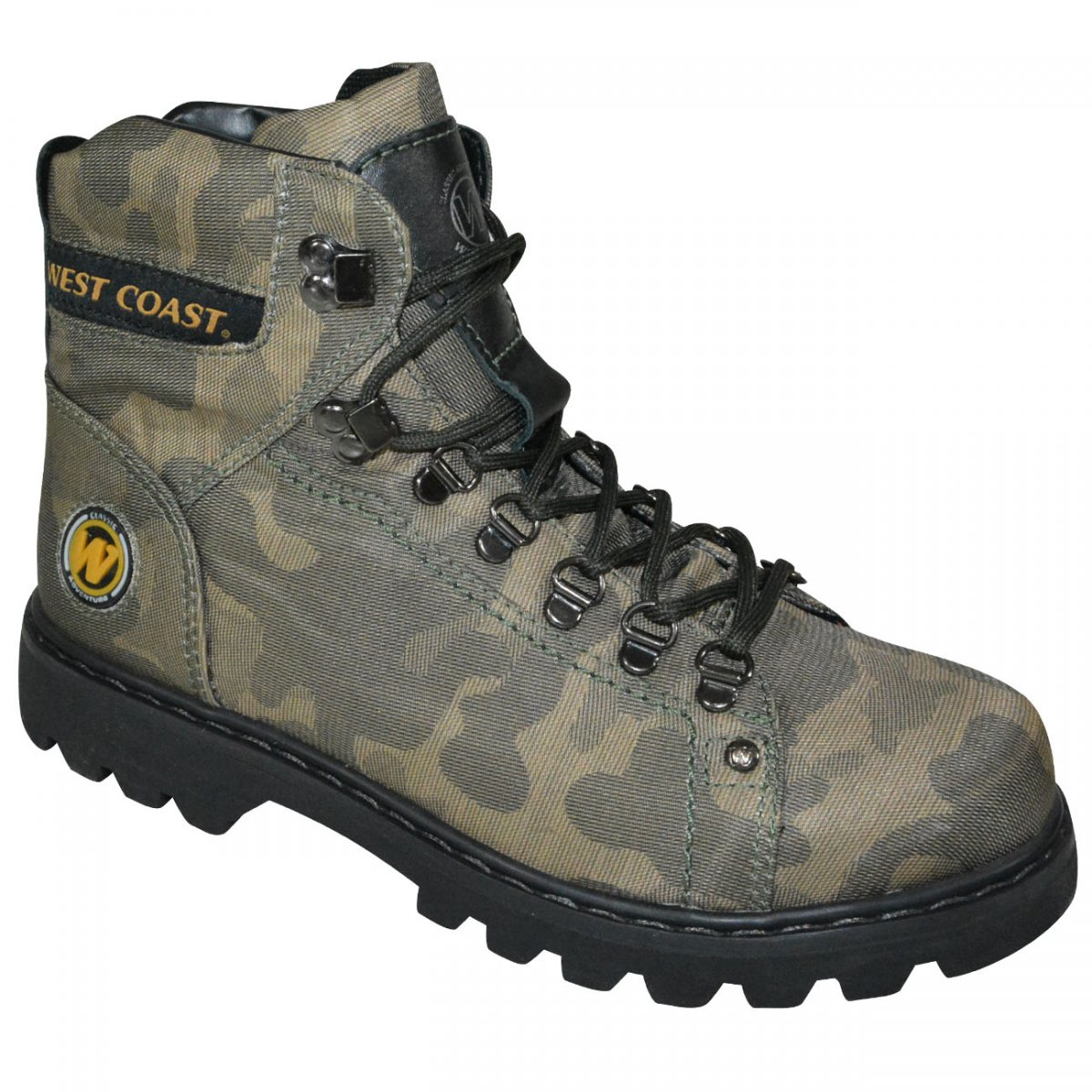 522015ae1 Bota West Coast Worker 5790 5909 - 3 - Verde Militar Preto - Chuteira Nike