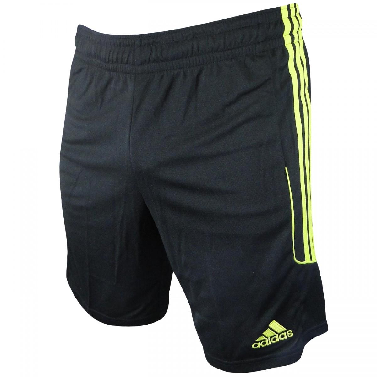 Calção Adidas Squadra 13 G90566 - Preto Limão - Chuteira Nike ... 5b87e1d55a904