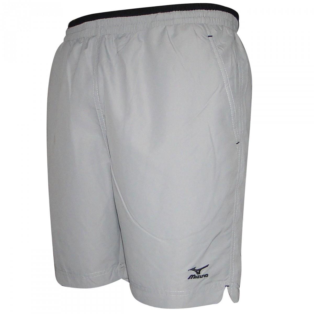 Bermuda Mizuno Tennis Master 4005604 0318 - CINZA PRETO - Chuteira Nike 3077428354825