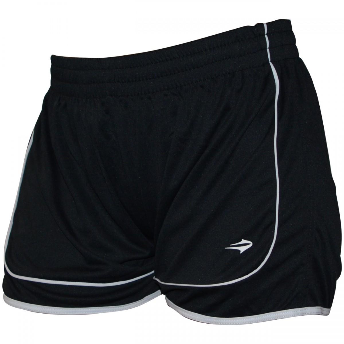 19a77e8e6f Calção Topper Futebol Feminino 4131895 133 - Preto Branco - Chuteira Nike