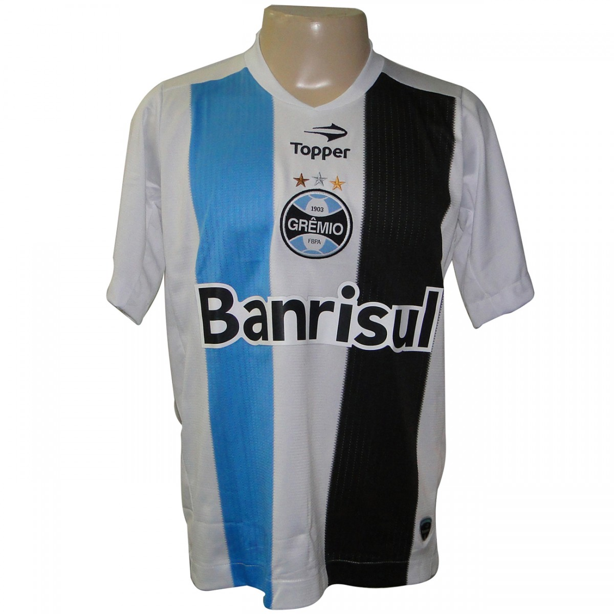 CAMISA GREMIO TOPPER 2011 3200 - BRANCO - Chuteira Nike 2311b392c87e8