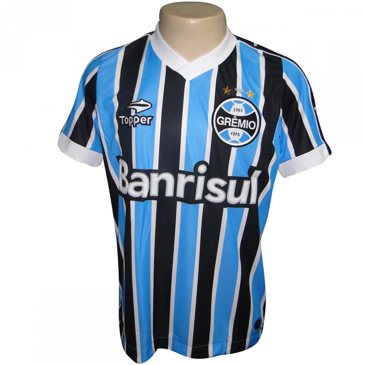 Camisa Gremio Topper 2013 2014 C2000M - Tricolor - Chuteira Nike ... 2a03c549450fd