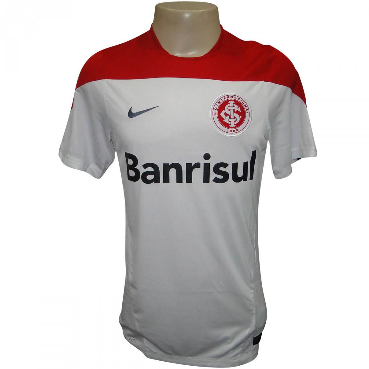 cd14587db3 Camisa Inter Nike Treino 2014 578810 101 - Branco Vermelho - Chuteira Nike