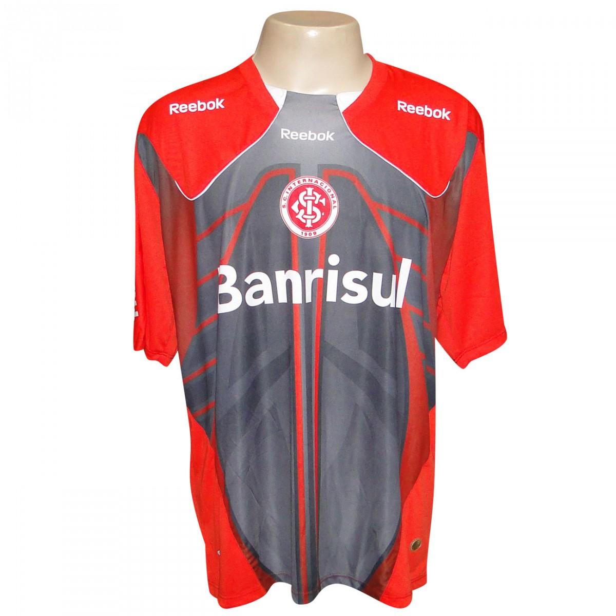 1dac78501f Camisa Inter Reebok Treino 2010 2011 IN06012V - VERMELHO CINZA ...