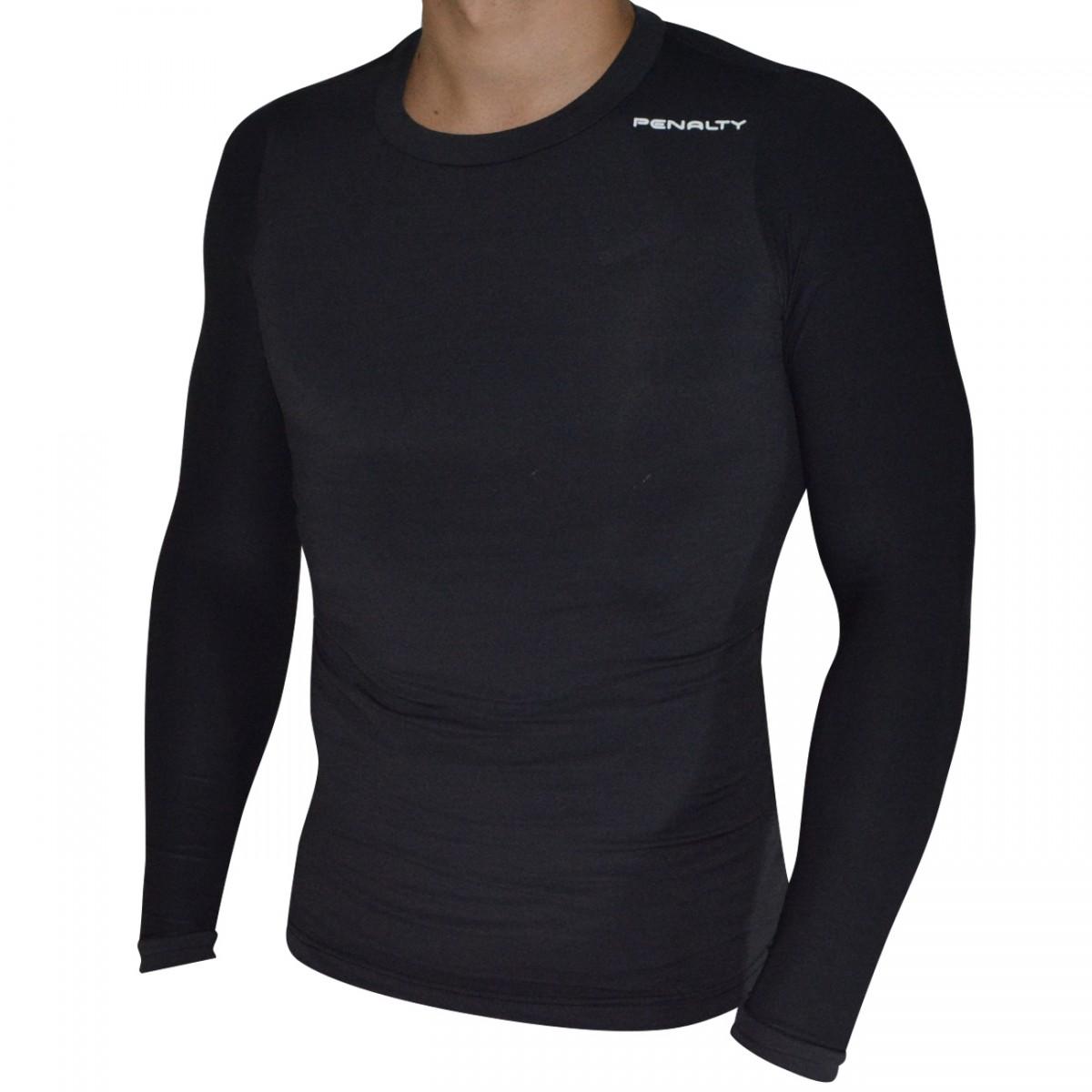 59a2b7928c Camisa Termica Penalty Matis VI ML 3019599000 - Preto - Chuteira Nike