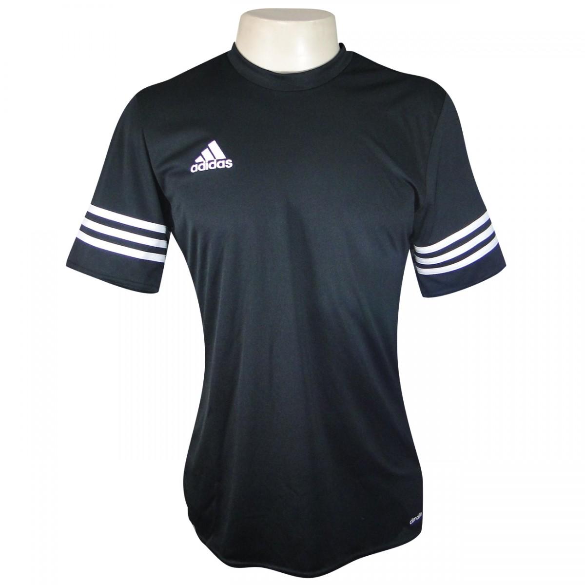 44e07cc5cf71c Camiseta Adidas Entrada 14 F50486 - Preto Branco - Chuteira Nike ...