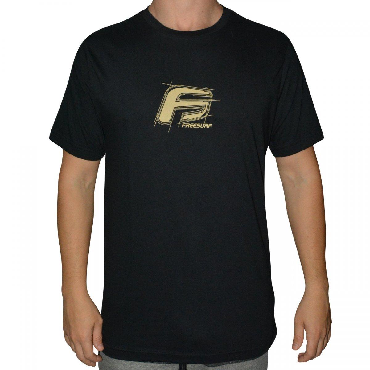 36def53b77d16 Camiseta Free Surf Surf 110409059 - Preto - Chuteira Nike, Adidas.  Sandalias Femininas. Sandy Calçados
