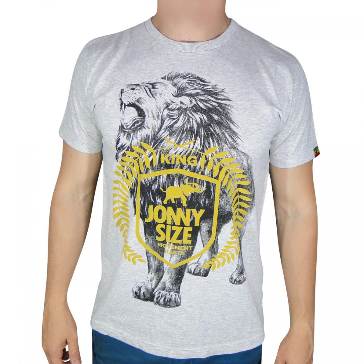 32c34c4d38b Camiseta Jonny Size Leao Rasta 3011711031 - Mescla - Chuteira  Nike bd71ff87b322e